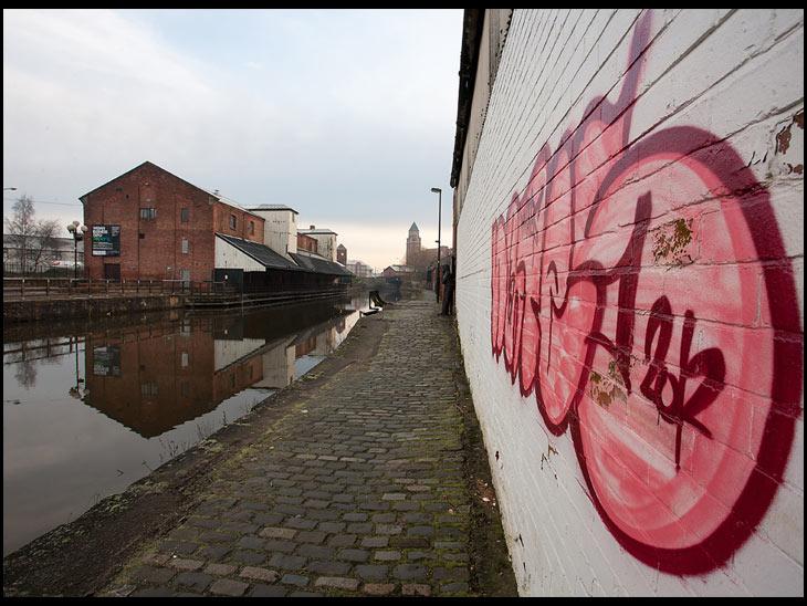 Wigan Pier 'Street Art'
