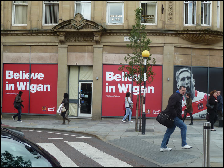 I believe in Wigan!