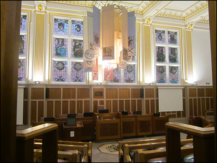 Council Chamber, Wigan Town Hall
