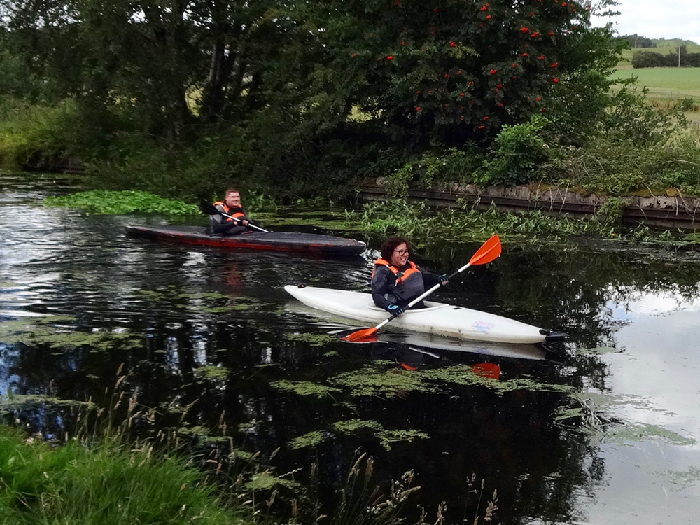 Canoeing the Cut
