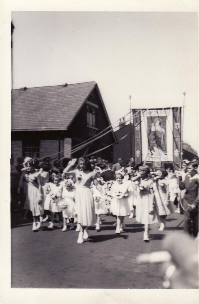 St. Johns Walking day c 1957