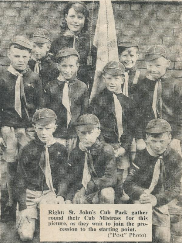St Johns Scouts 1962