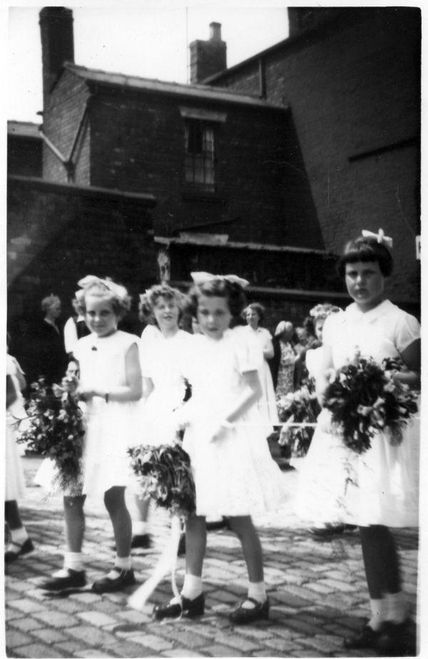St Marks Walking Day, c1955.