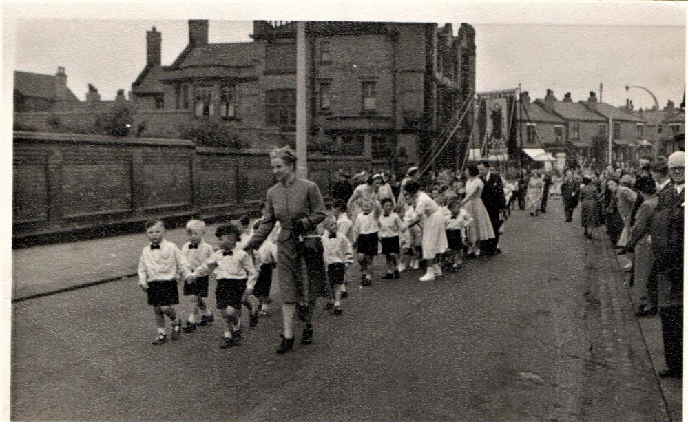 St Andrew's Walking Day. Late 1940's or early 1950's