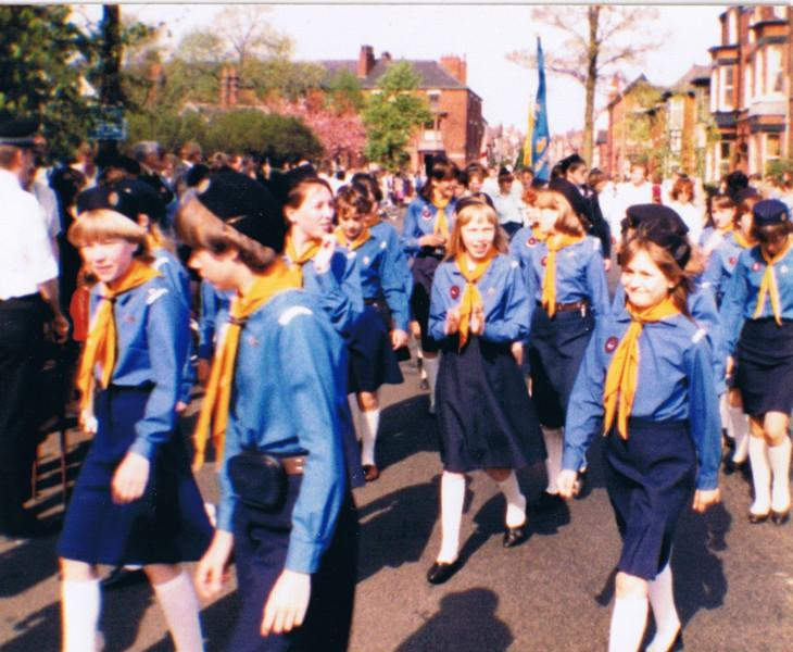 St Michael & All Angels Walking Day Circa 1985