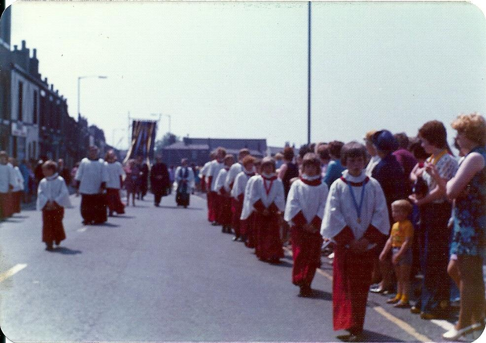 Walking Day New Springs 1970s