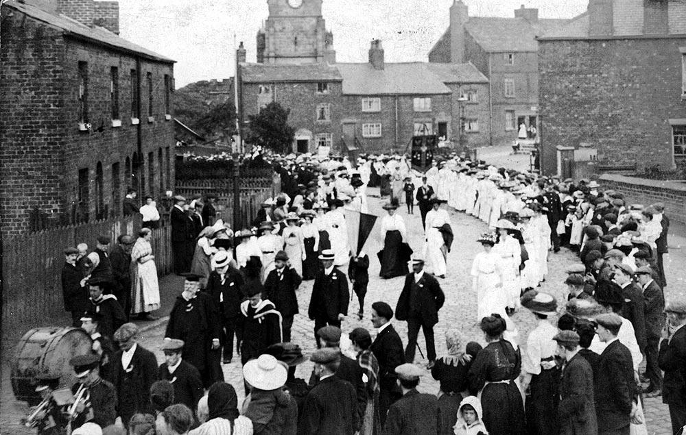Walking Day in Standish, 1911