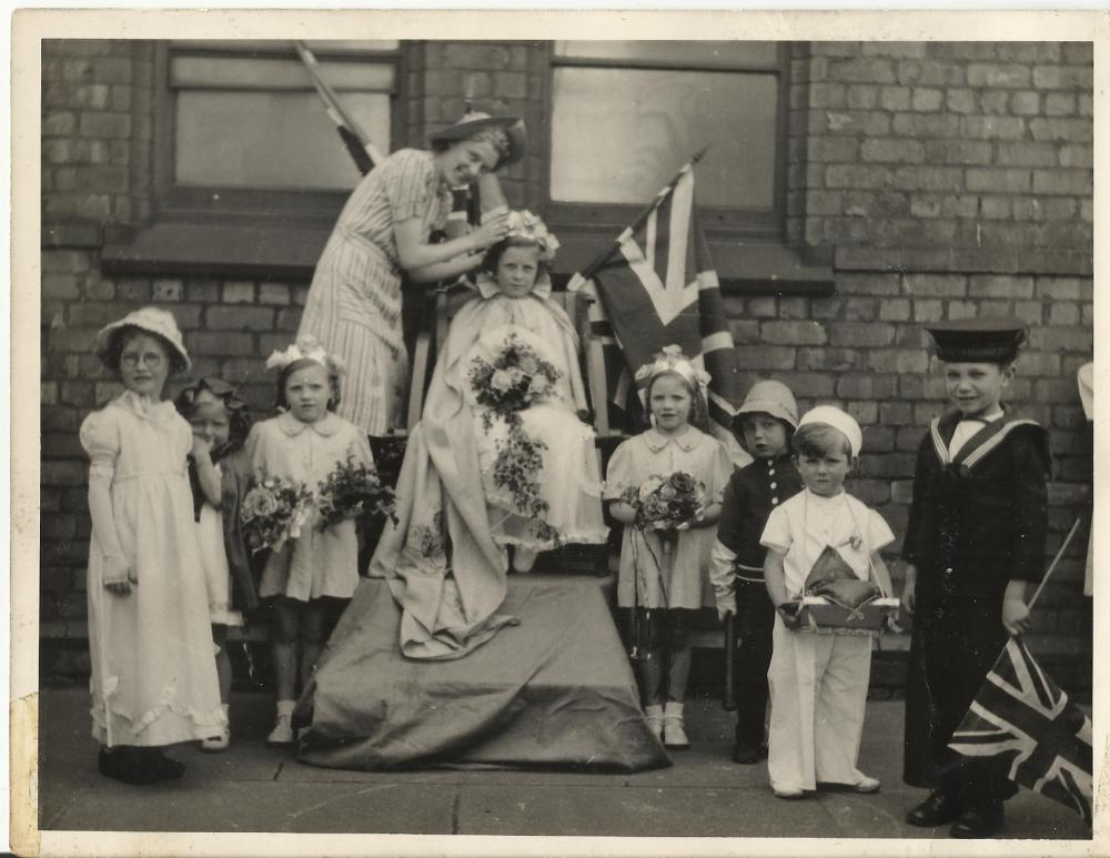 St James' MIssion, Rose Queen June 1943