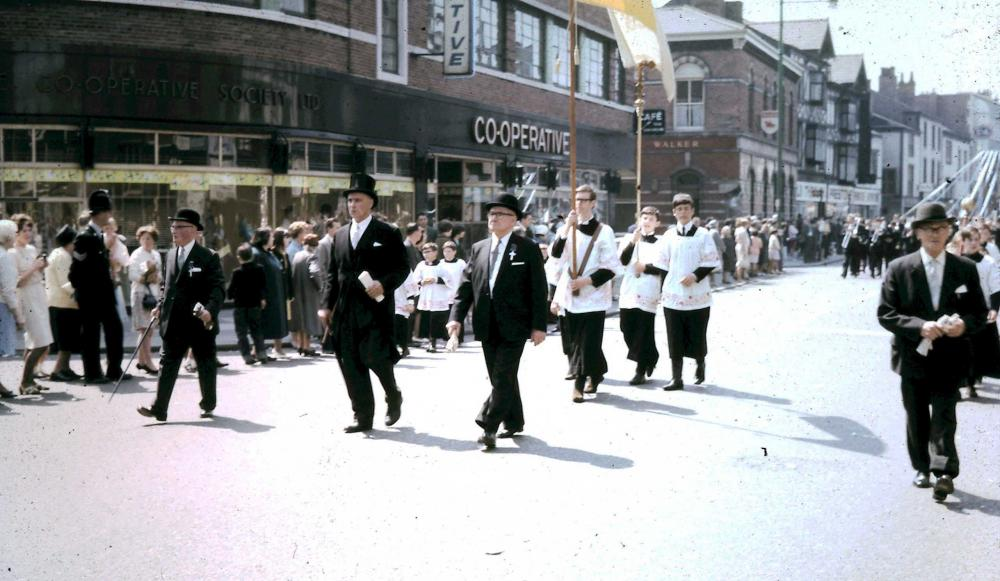 St Johns Walking Day Whit Monday 1966
