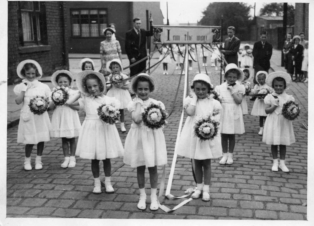 St Peters Walking Day about 1953