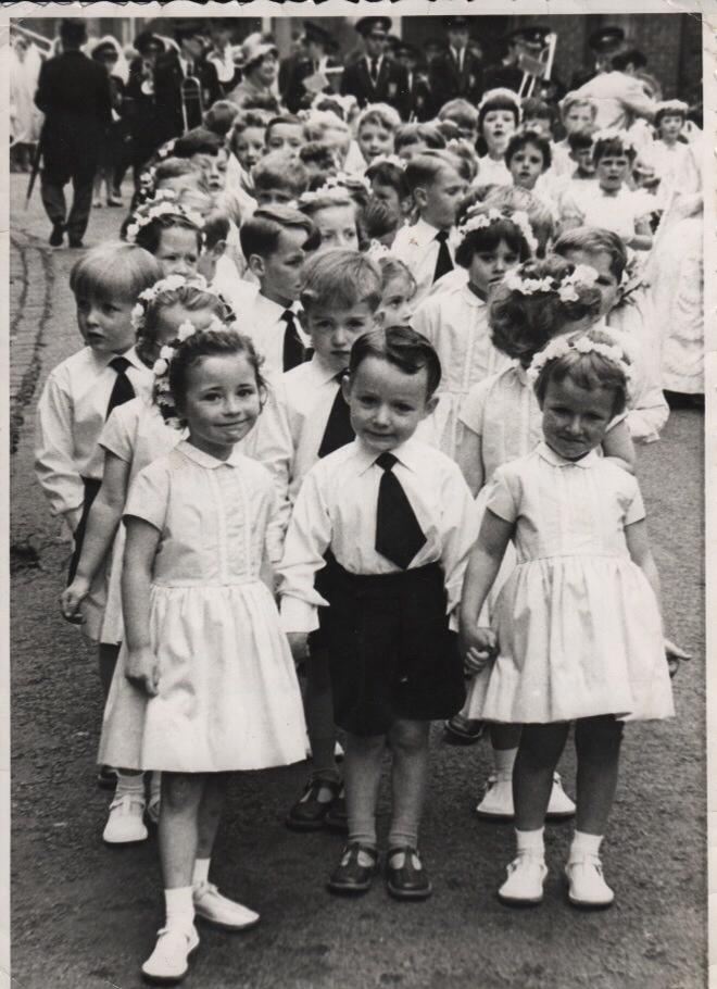 St Johns walking day c1967