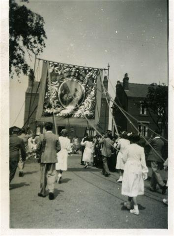 The Holland Moor procession, 1949/50