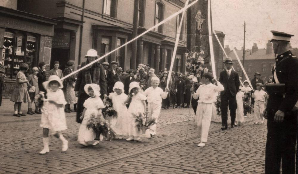 St Mary's Walking Day, 1920s