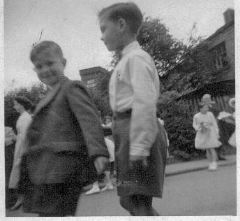 Appley Bridge Walking Day 1956