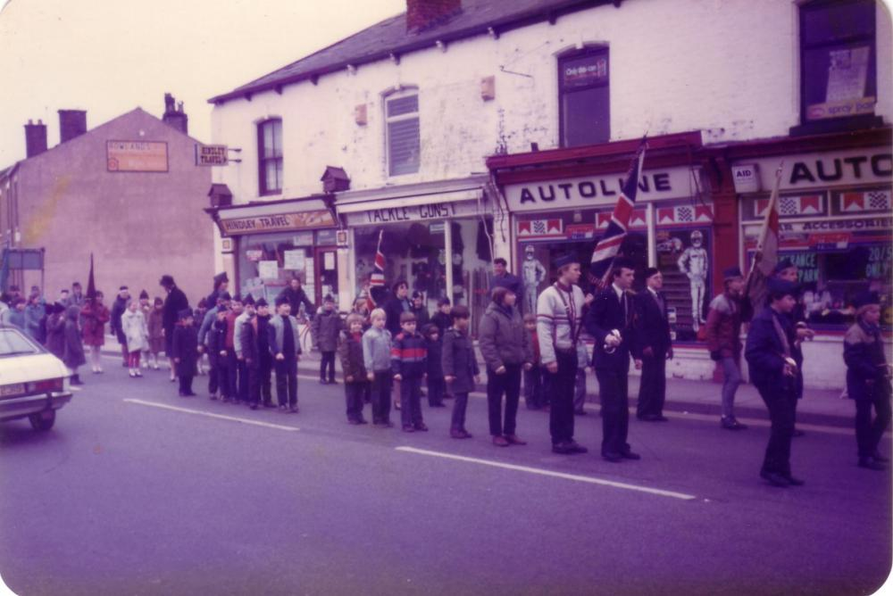 Church Parade Hindley 1984