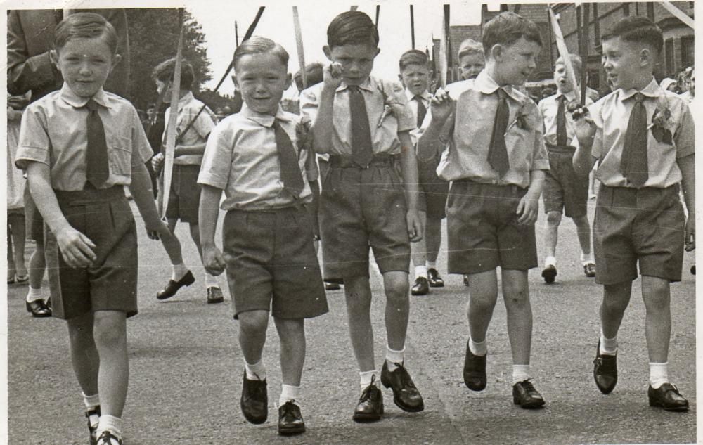 St, Marks Walking Day about 1959