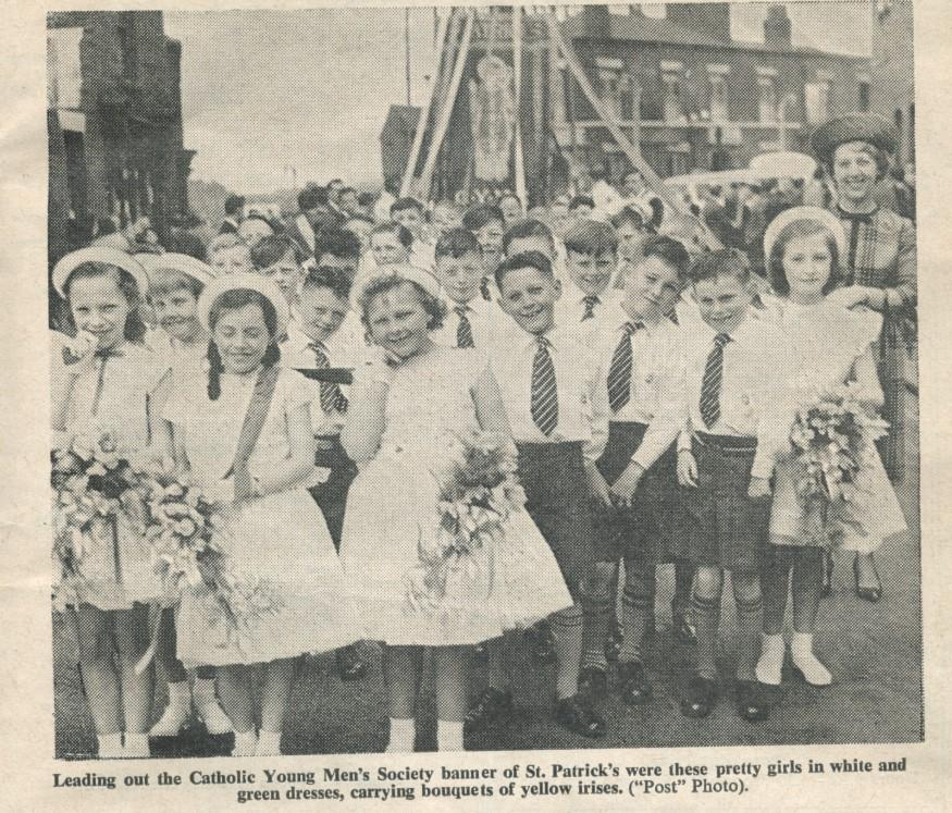 St. Pats Walking Day 1962