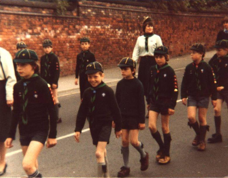 Wigan Scouts, 1977.