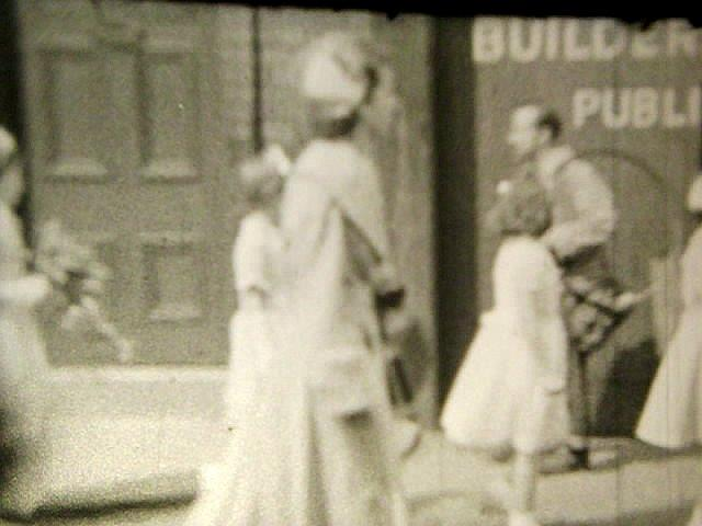 Ince walking day early 1950s