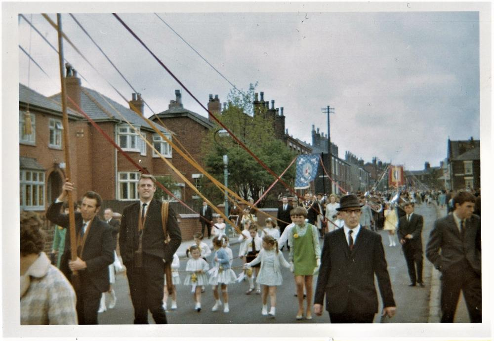 Haigh walking day 1970s