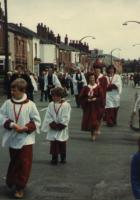 St Nathaniel's walking day early 80s