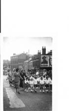 St Catharine's Walking Day - Scholes Lights circa 1950