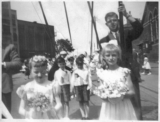 Appley Bridge Walking Day 1950s