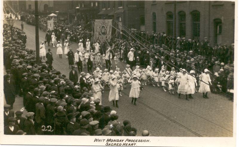Whit Monday Procession, Sacred Heart.