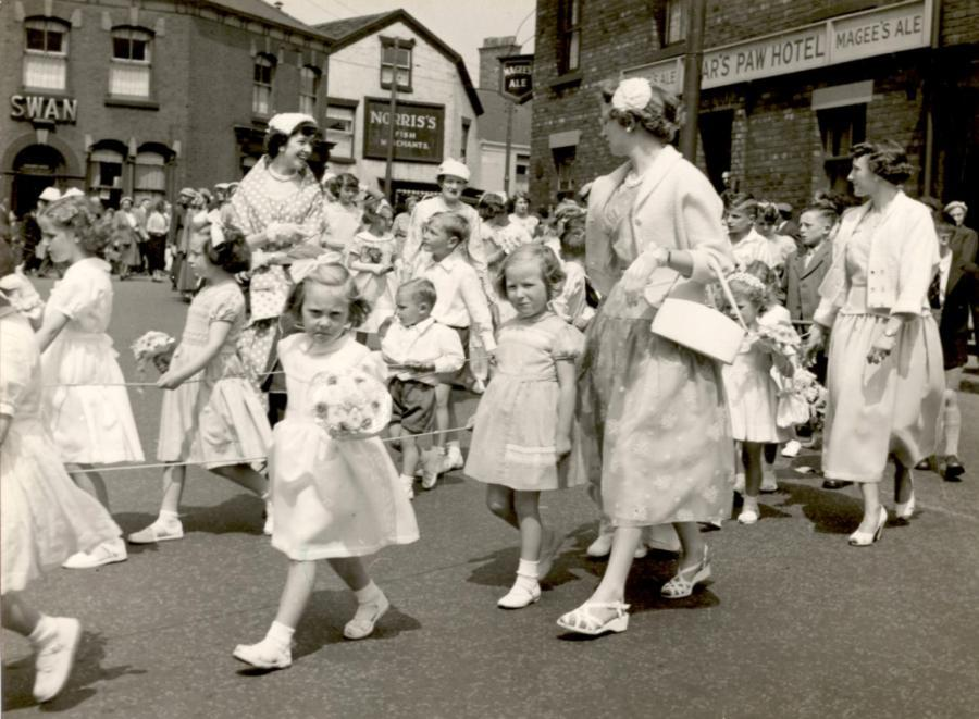 St Georges walking day, c1957.