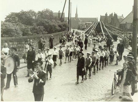 Ince St Mary's Walking Day, 1950.