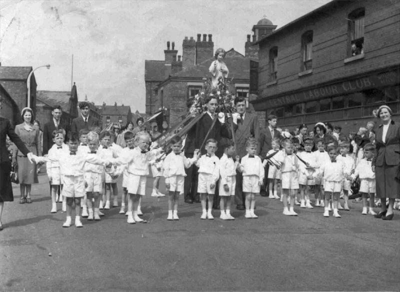 St John's RC Primary School, c1953.