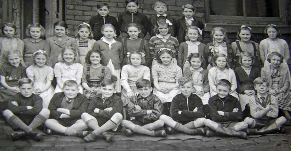 Aspull Methodist School 1950s