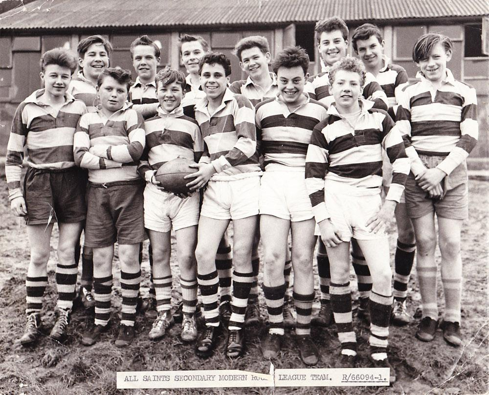 All Saints Secondary Modern Rugby League Team, 1961