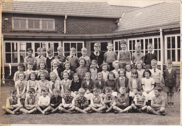 Golborne County Junior School !955