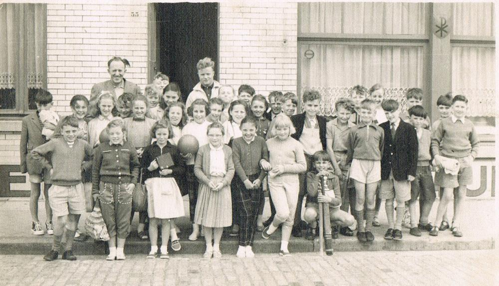 School vsit to Belgium 1959