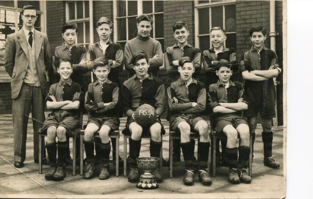 Football Team Argyle Street Council School 1953/4