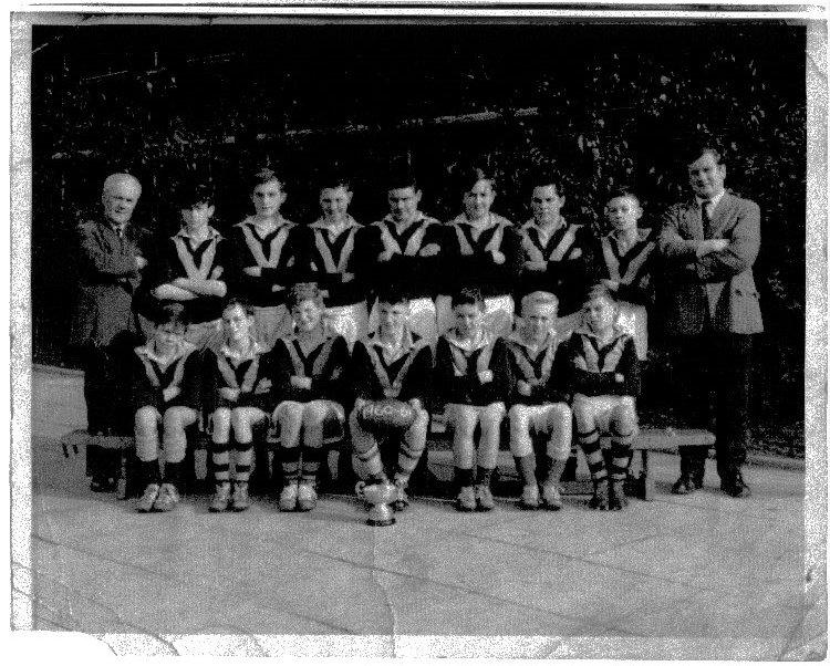 St Thomas More 2 year rugby team 1960