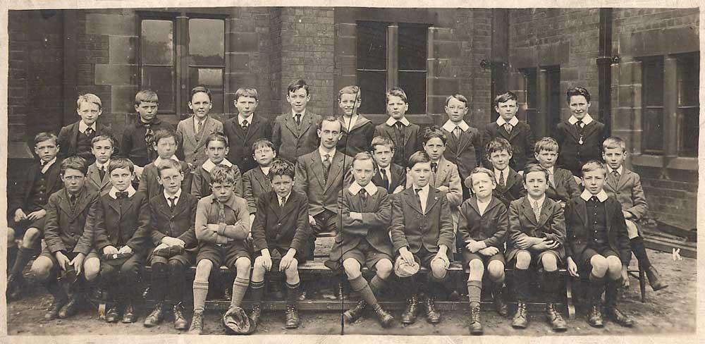 Wigan Grammar School, 1919.