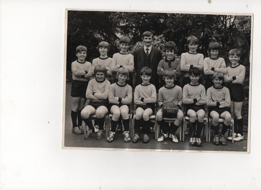 St Benedicts School Football Team 1972