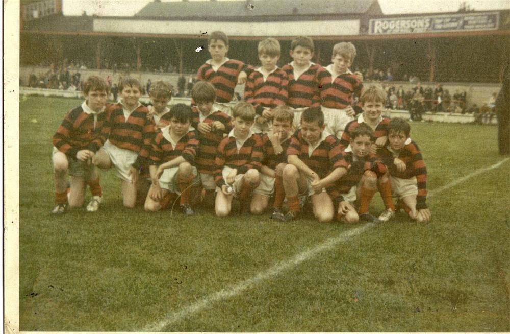 St Judes RC School Rugby Team 1969