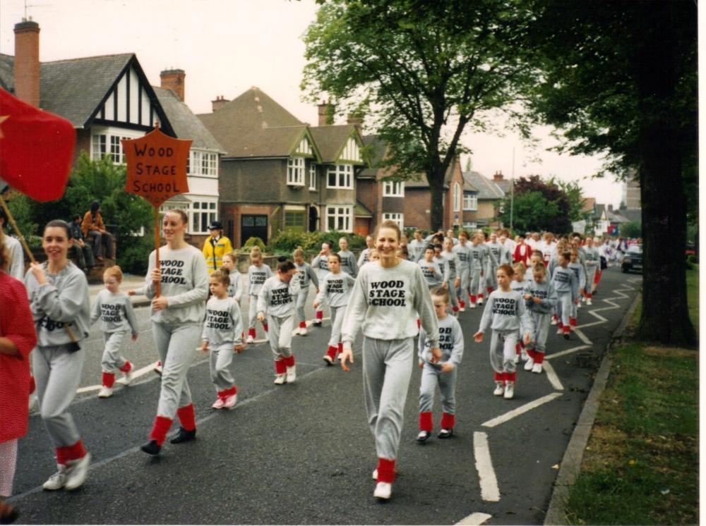 GALA  DAY  IN  LEICESTER  1990