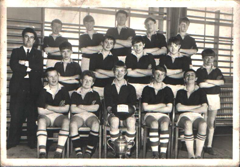 2nd year rugby team 1967
