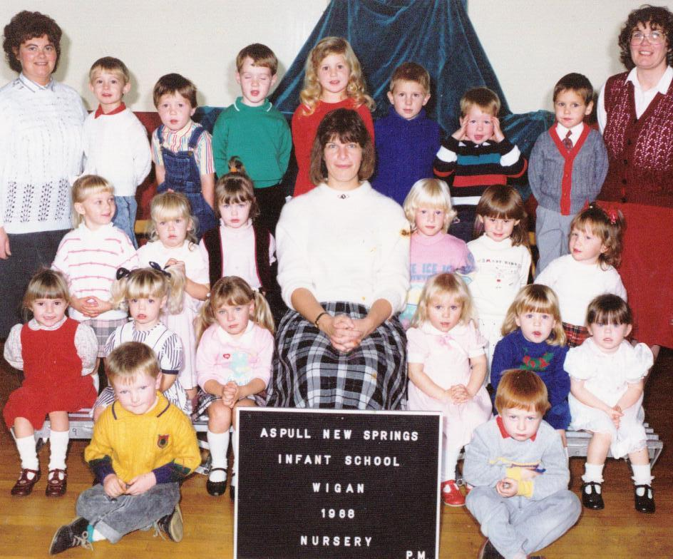 New Springs Nursery Class photo 1988