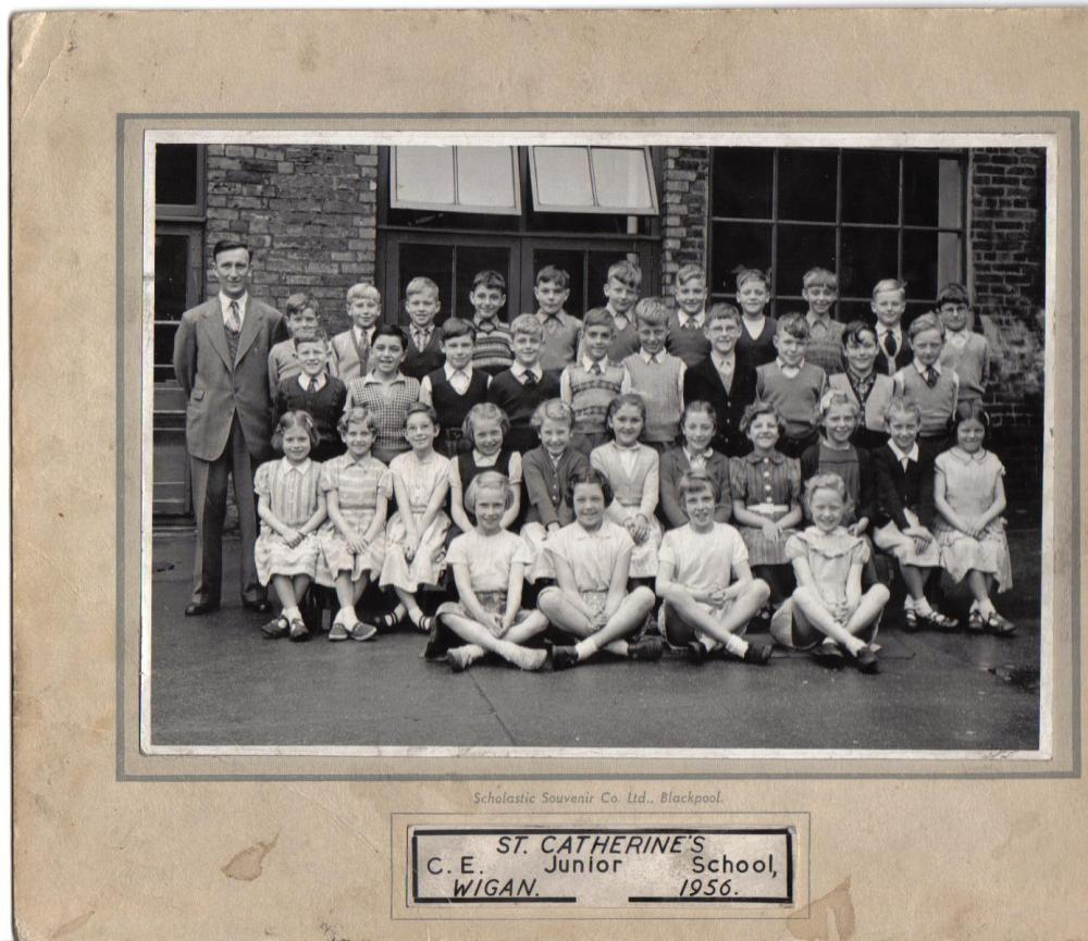 St Catherines group photo  approx 1956