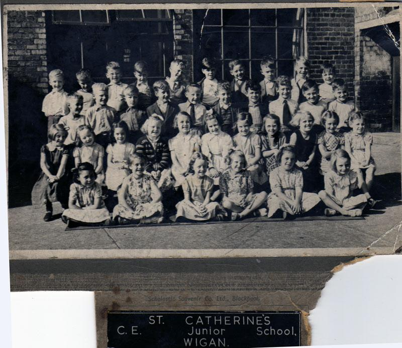 St Catherine's in the early 1950's