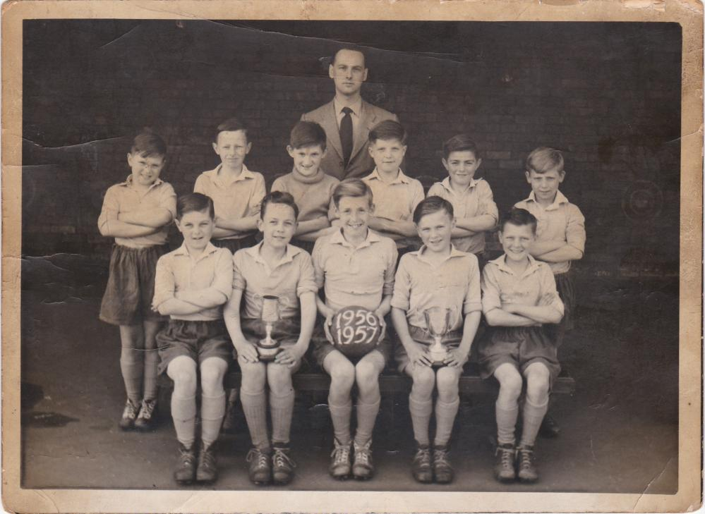 Scot Lane Primary School Football Team 1956-1957