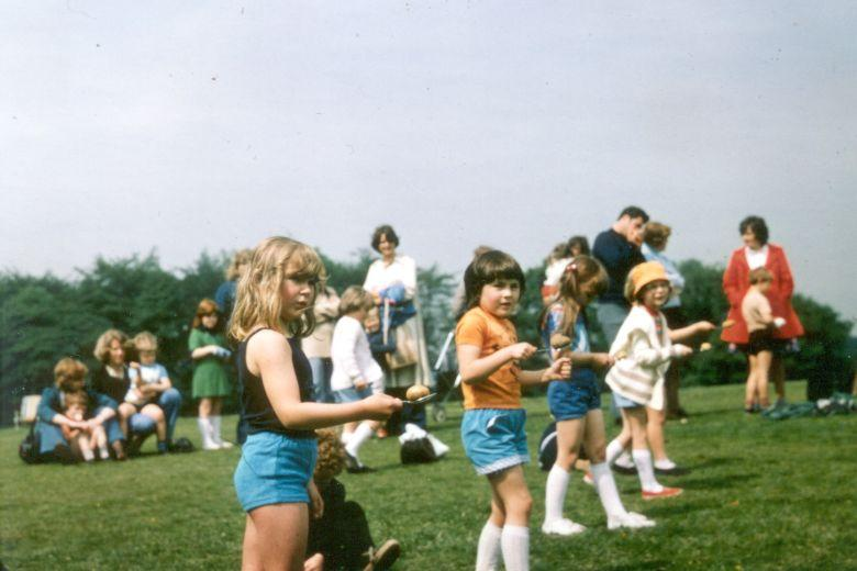 Sports Day at Ashfield Park, c1977.