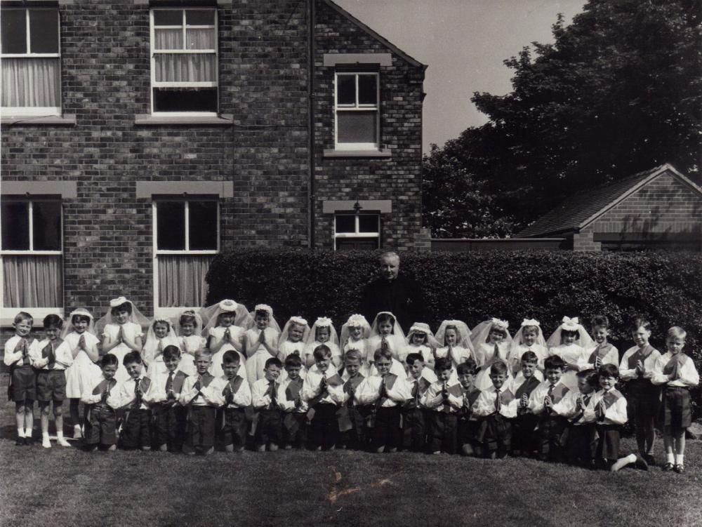 Our Ladys Immaculate R.C school, 1st holy communion 1964