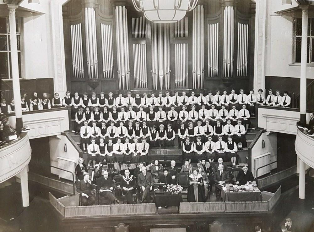 SPEECH DAY 1952. QUEEN'S HALL