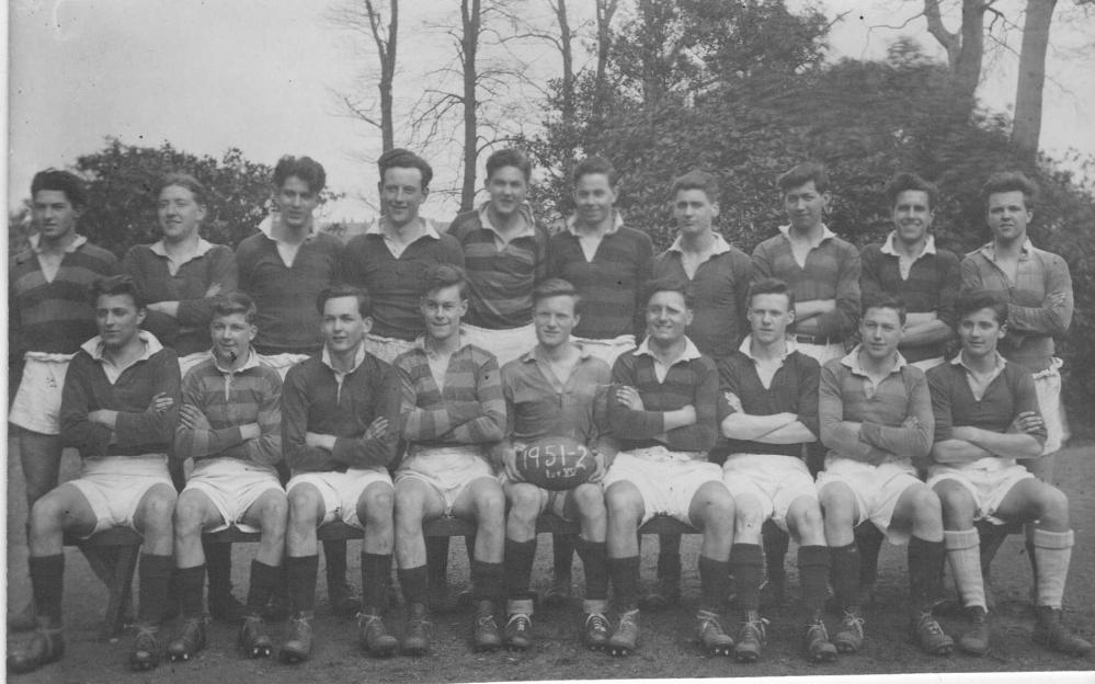 Upholland Grammer School Rugby Team, 1951/2